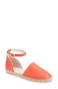 Kenneth Cole New York 'Blaire' Ankle Strap Leather Espadrille (Women) at Nordstrom.com.