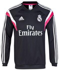 Sweater Pre Match Real Madrid Black 2014-2015