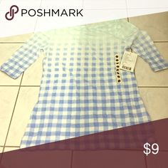 BDG Checkered T-Shirt BDG checkered T shirt from Urban Outfitters. Tags still on! Very cute with a good price for a UO top!! Very soft and comfortable - 60% cotton, 40% polyester. Urban Outfitters Tops Tees - Short Sleeve