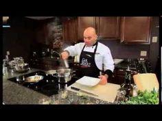 Saladmaster Pasta with Shiitake Mushrooms Lemon and Asparagus - YouTube