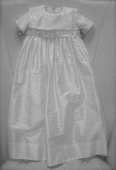 Heirloom Christening Gown or Baptism Gown by CouturesbyLaura, $249.99