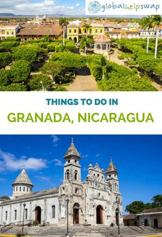Things to do in Granada, Nicaragua. From the food to the colonial architecture, Granada is a beautiful little city right on Lake Nicaragua. With volcanoes and islands nearby it is the perfect destination for an adventure.