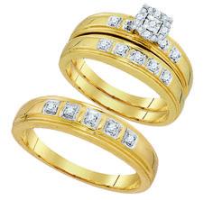 93854- 0.28CTW DIAMOND FASHION TRIO SET