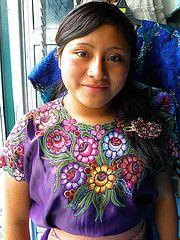 A Tzotzil Girl (brisa estelar) Tags: people girl costume traditional mayan chiapas indigenous zinacantan huipil bordado tradicional tzotzil vestimenta vision:people=099 vision:face=099 vision:portrait=099