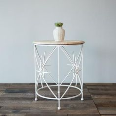 Where would you use the Frenchie side table? We love it as an accent table in the living room or grab two for bedside tables! #troveeditions #onlineeditions