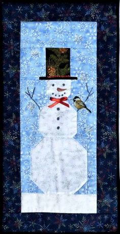 snowman quilt patterns | Arbee Designs Wholesale Quilt Patterns