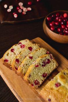 Fresh Cranberry Tea Cake - Kitchen Confidante