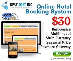 online hotel booking system pro php php script cms booking system  online hotel booking system pro is an extended version with extended facilities developed with php for automated booking engine of any single hotel.