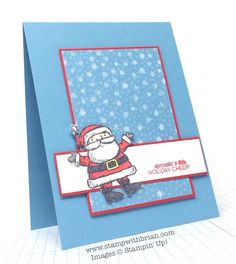Get Your Santa On, Christmas Tagables, Stampin' Up!, Brian King, FMS157