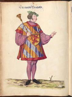 Fugger, Jakob: Ehrenspiegel des Hauses Österreich (Buch I - VI) - BSB Cgm 895, Augsburg, 1555