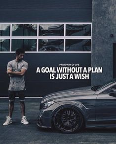 A goal without a plan is just a wish. Strong Quotes, Men Quotes, Positive Quotes, Motivational Quotes, Inspirational Quotes, Entrepreneur Quotes, Success Quotes, Attitude Quotes, Ambition Quotes
