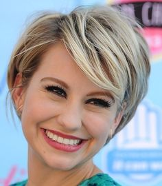 Happy hair for now, and this is really short but so cute! Grown Out Pixie with Soft Bangs