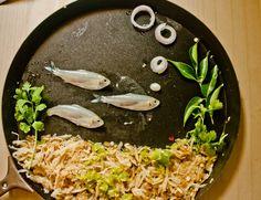 Fish food art
