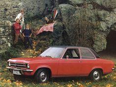 Opel Ascona Coupe (1970 – 1975).