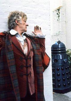 Doctor Who and Dalek. John Pertwee