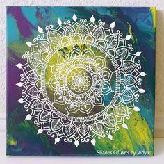 Henna Mandala Art Yoga Art Decor Meditative Art Healing