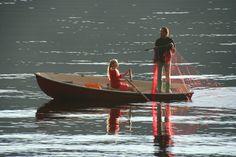 Juli og fisking