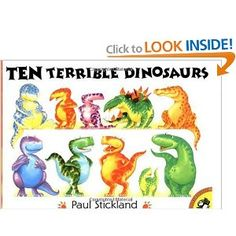 Dinosaur Theme by www.pre-kpages.com