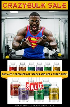 Gain raw power and lean muscle mass with #crazybulk