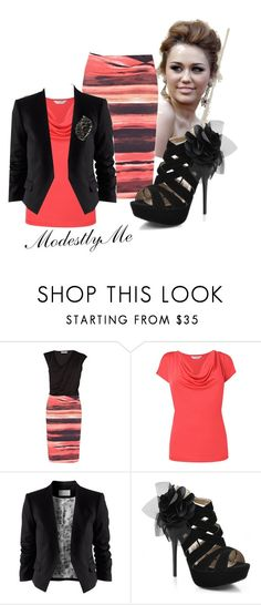 """""""Sunday Night"""" by modestlyme ❤ liked on Polyvore featuring Karen Millen, L.K.Bennett, H&M, Qupid and Fantasy Jewelry Box"""
