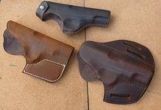 Belt, pocket and pancake holsters for Colt 1903 Pocket hammerless pistol. Handmade custom leather holsters for classic pistols from makeitjones.co.uk