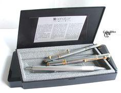 SENATOR Fountain Pen Nib F, Ball Point Pen and Mechanical Pencil SET w/ Box