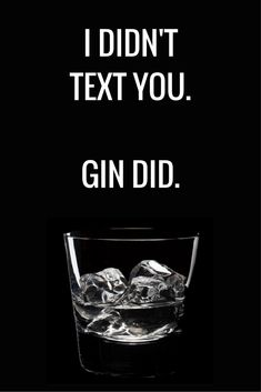 Food And Drinks, Honest! Gin Quotes, Funny Quotes, Wein Parties, Cocktails For Beginners, Cocktail Quotes, Gin Tasting, Gin Bar, Gin Lovers, Alcohol Humor