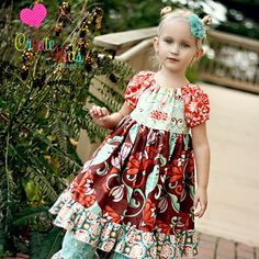 Marissa's Perfect Peasant Dress by Create Kids Couture PDF Sewing Pattern