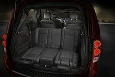 The Grand Caravan also offers an available Super Centre Console that is ingeniously designed to carry a family's belongings with easy access for both front and rear passenger. Standard features include a dual zone climate control, power windows and lock, and black cloth seating with available heated front seats. Also available is a tri-zone automatic climate control, heated leather-wrapped steering wheel with audio controls, leather-wrapped shift knob, and power second and third row windows.