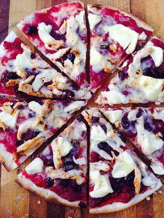 Pizza - Chicken, Cranberry & Cream Cheese <3