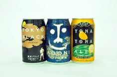 Tokyo Black, Ao Oni and Yono Yono Ale (left to right)