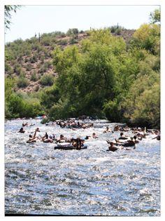 Salt River Tubing (AZ) did this this summer, so fun!