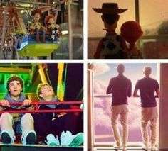 Liam Payne and Niall Horan as Woody and Jessie from Toy Story! ahahahahahahahar