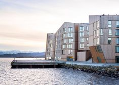 AART Architects Norwegian housing development is shaped like a wooden mountain range | Inhabitat - Sustainable Design Innovation, Eco Architecture, Green Building