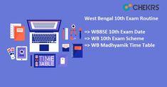 West Bengal 10th Exam Routine  #westbengal #10th #examroutine #chekrs #edtech #edchat #learning #education #ukedchat