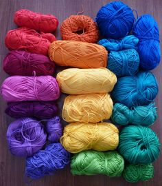Cotton yarn, photo by The Gingerbread Lady