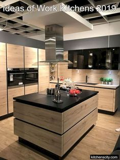 Home Decor Inspiration 45 Stunning Modern Dream Kitchen Design Ideas And Decor - Googodecor.Home Decor Inspiration 45 Stunning Modern Dream Kitchen Design Ideas And Decor - Googodecor Kitchen Room Design, Kitchen Sets, Home Decor Kitchen, Rustic Kitchen, Interior Design Kitchen, Home Kitchens, Island Kitchen, Diy Kitchen, Kitchen Hacks