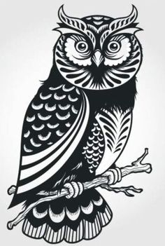Illustration - illustration - decorative owl (illustrator unknown) www. illustration : – Picture : – Description decorative owl (illustrator unknown) www.creativeboysc… -Read More – Owl Vector, Free Vector Art, Owl Silhouette, Branch Vector, Owl Illustration, Owl Tattoo Design, Animal Coloring Pages, Animal Sketches, Owl Art