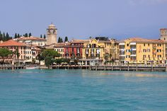 Lazise, pictured from the ferry. | Flickr - Photo Sharing!