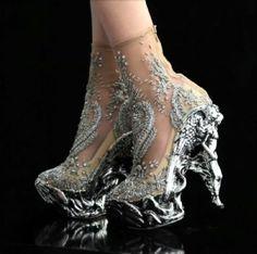 Alexander McQueen angel heels - PRETTY