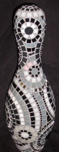 This is F/N AWESOME!!! and if you know me then you know i would love this..... just sayin....mosaic bowling ball pin.