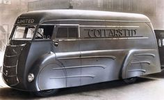 volkswagenfreunde-wels:  sketchymetal:  1933 Holland Coachcraft van on a Commer chassis