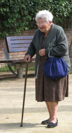 old lady walking - Google Search