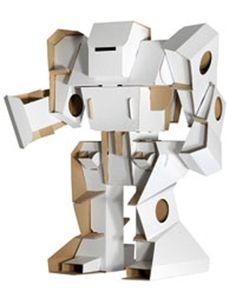 Kartonnen robot 80 x 100 x 40 - 54,95 euro Armen kunnen bewegen