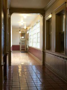 Interior hall detail. Fort Worth stock yards
