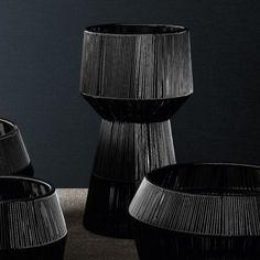 Varaschin Loop 56 cm Plant Holder by Nigel Coates - Black £357