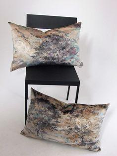 Pair+Prestigious+Textiles+Velvet+Cushion+Covers, £20.00 digital print trees