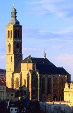 St.James' church in Kutná Hora (Central Bohemia), Czechia