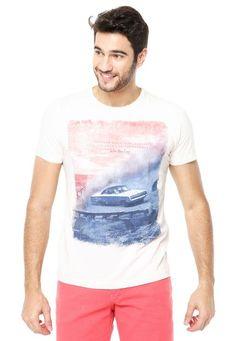 Camiseta Sommer Mid Car Bege - Compre Agora | Sommer Brasil