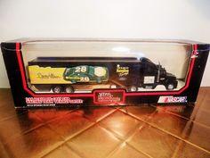 DAVEY ALLISON #28 1/64 Scale Diecast Transporter Racing Champions 1992 Texaco #RacingChampions #Ford